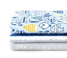 Ocean-themed fat quarter bundle!  -  Snorkeling - Dailylike Fabric Quarter Pack | Fabric Bundles | Maigo