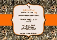 Superb CUSTOM Deer Camouflage Baby Shower Invitations  Boy Or Girl  Hunting Season  | Hunting Season, Shower Invitations And Camouflage