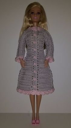 Handmade Doll Clothes fit CHELSEA Valentine Hearts Pink Dress New NO DOLL