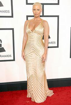 Amber Rose: 2014 Grammy Awards