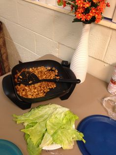 PF CHANGS CHICKEN LETTUCE WRAPS copycat recipes. SOOO GOOD, and so easy!! WE LOVED IT.