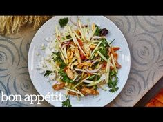 How to Make a Quick and Delicious Crispy Thai Chicken Salad | Bon Appetit - YouTube
