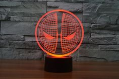 Deadpool Mask Lamp