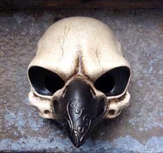 Bird Skull mask by Piratemask on Etsy, $95.00