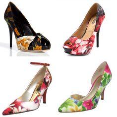Watercolor shoes!