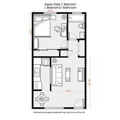 NEW FLOOR PLANS-1 bedroom granny flat …   Pinteres…