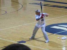 Josh Hamilton on mechanics Rangers Baseball, Texas Rangers, Baseball Players, Hitting Drills Softball, Baseball Videos, Hamilton, Basketball Court, Conditioning, Sports