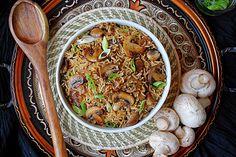 Mushroom & Onion Rice