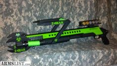 zombie weapons for sale | ARMSLIST - For Sale: Mossberg 500 Custom Zombie Edition