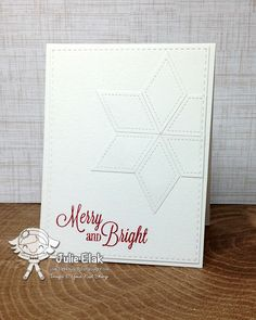 Your Next Stamp:  Holiday Postage stamp set, Scrapworks Diamonds and Triangles die set, Stitched Rectangle die set, Holly Berry Red Ink #yournextstamp