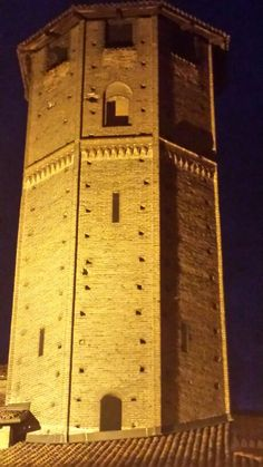 Torre degli Avogadro .Via Verdi. Vercelli.