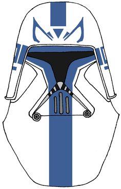 Clone Trooper Captain Rex's Helmet 2