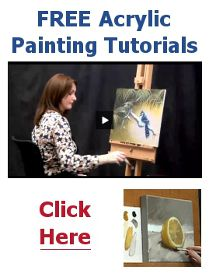 acrylic painting tutorials