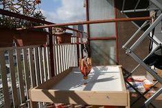 Experimentos con Movimiento: Pintura con Péndulos Deck, Outdoor Decor, Home Decor, Pintura, Decoration Home, Room Decor, Front Porches, Home Interior Design, Decks