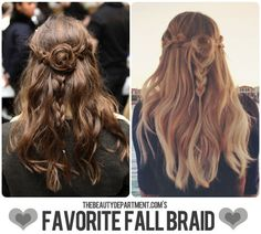 Braids are all the rage this season! Check out this gorgeous braid how-to via The Beauty Department