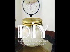DIY: Bodybutter Kakaobutter - Kokoscreme einfach selber machen - YouTube