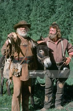 """Not only was Denver Pyle a veteran of feature films, like the """"Alamo"""" but also of tv. He co-starred with Dan Haggerty in the """"Life and Times of Grizzly Adams"""". Native American Actors, Native American History, American Art, 70s Tv Shows, Old Shows, Rocky Mountains, Grizzly Adams, American Frontier, Braveheart"""