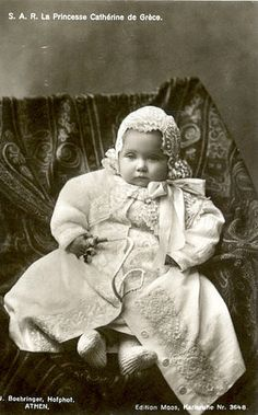 Princess Katherine of Greece and Denmark, daughter of King Constantine I and Queen Sophia of Greece