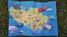 Illustrated Mad & Guide - Madeira Map for Kids
