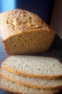 Nourished and Nurtured: Grain-free Sandwich Bread (GAPS : primal : gluten-free):: coconut flour, crispy almond flour, butter, eggs, honey, apple cider vinegar, sea salt, baking soda.