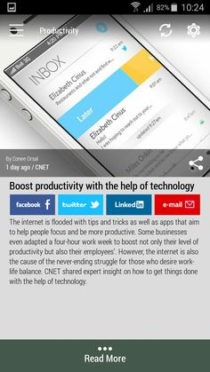 Download the FREE #Born2Invest Android app to get the full scoop and many more business news summaries. #productivity #boost #tipsandtricks