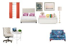 """room decor"" by thushani-fernando on Polyvore featuring interior, interiors, interior design, home, home decor, interior decorating, Pottery Barn, ferm LIVING, Trademark Fine Art and Urban Outfitters"