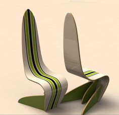 """""""Chair the Wave"""" Stripes"""