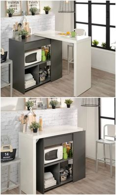 Very Small Kitchen Table and Chairs. 21 Very Small Kitchen Table and Chairs. Best Small Kitchen & Dining Tables & Chairs for Small Spaces Small Space Bedroom, Small Space Kitchen, Small Dining, Small Space Living, Compact Kitchen, Table For Small Space, Small Kitchens, Luxury Kitchens, Kitchen Furniture