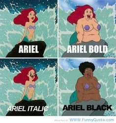 Cannot Unsee Ariel -Funny Tumblr