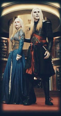 Just love how Nuada holds his sister and being so possessive