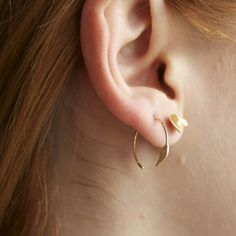 Image of WWAKE 14k earrings