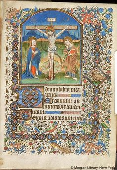 Book of Hours, MS M.104 fol. 14r - Images from Medieval and Renaissance Manuscripts - The Morgan Library & Museum