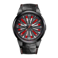 Perrelet Special Edition Turbine Helvetia A4037/1 - face view