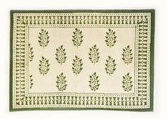 Placemat in Green Spruce Design