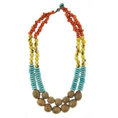 Mujus Colca Necklace Aqua now featured on Fab.