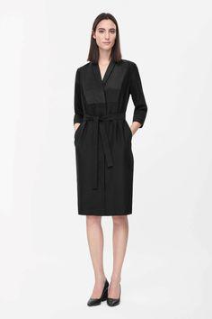 COS | Long blazer dress