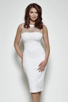 Amy Childs Abigail White Dress | *Promo* £49.99 at PDUK | Free Postage