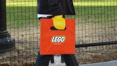 En lo más fffres.co: Esta bolsa transforma tu mano en la de un muñeco LEGO: Junho Lee yEvan Choi son dos… #Diseño_gráfico #Packaging