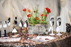 wedding glasses Wedding Glasses, Wedding Ideas, Table Decorations, Furniture, Home Decor, Decoration Home, Room Decor, Home Furnishings, Home Interior Design