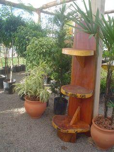 Citrusflor - estante rústica feito de madeira