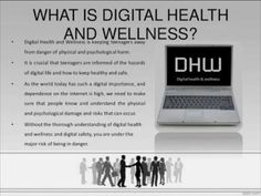 Digital Health and Wellness Issues Understand ergonomics and repetitive motion to avoid injuries. Technology such as the Internet and video games can be addictive. Psychological Well Being, What Is Digital, First Health, Digital Citizenship, Eye Strain, Keeping Healthy, Health And Wellbeing, Health Coach, Health Problems