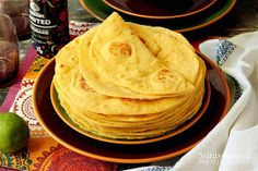 Tortilla Taco Pizza, Tacos, Food And Drink, Bread, Cooking, Healthy, Ethnic Recipes, Kitchen, Bakeries