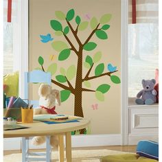 Dotted Tree Wall Decal at Roommates $41.49