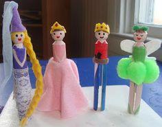 The Masked Mommy: Princess Peg Dolls