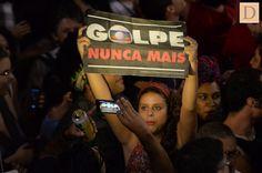 Manifestação pela democracia marca aniversário do golpe e cutuca a Globo