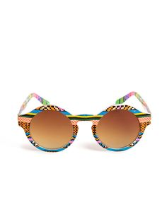 Bright Patterned Sunglasses