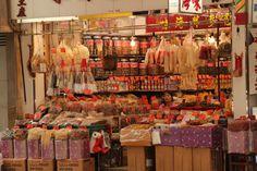 Mong Kok, food market