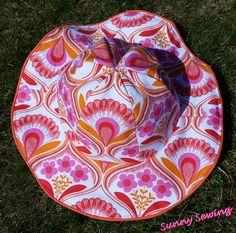 Sunny Sewing: Het zonnetje schijnt: een zomerhoedje