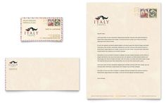 Sushi Restaurant Business Card And Letterhead Template Design By