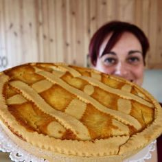Tortilla Sana, Biscuits, Italian Pastries, Ricotta, Apple Pie, Italian Recipes, Tart, Recipies, Cheesecake